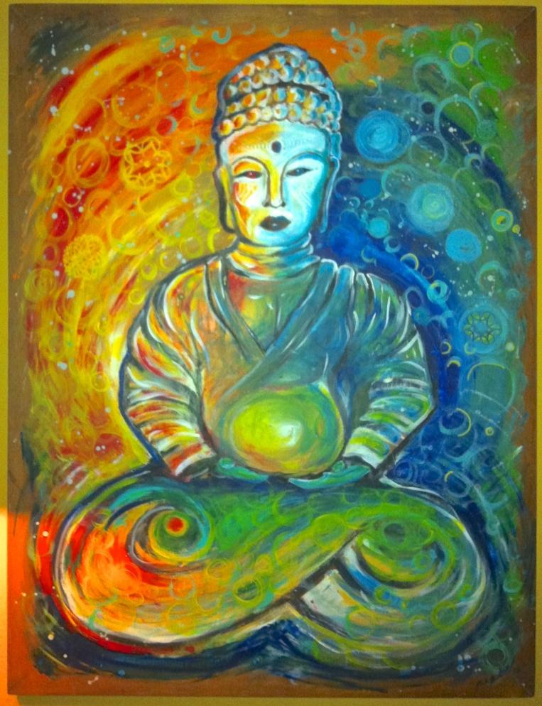 """""""Buddha"""" by Mark Burdette"""